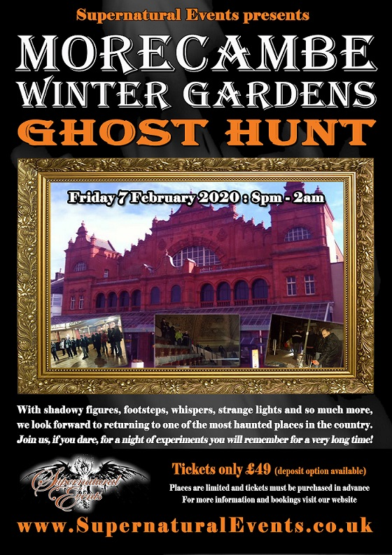 Supernatural Events Morecambe Winter Gardens